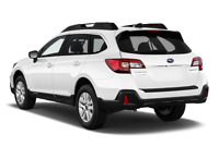 Subaru Outback angular rear perspective