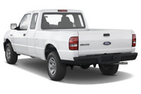 Ford Ranger angular rear perspective