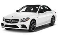 Mercedes-Benz C-Class angular front perspective