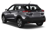 Nissan Kicks angular rear perspective