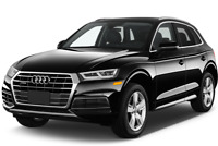 Audi SQ5 angular front perspective