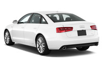Audi A6 angular rear perspective
