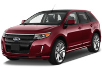 Ford Edge angular front perspective