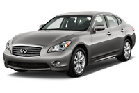 Infiniti M56 angular front perspective