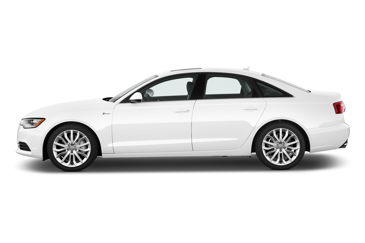 Audi A6 side view