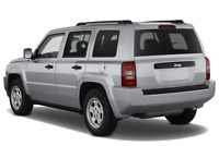 Jeep Patriot angular rear perspective