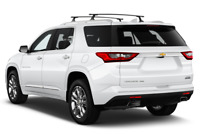 Chevrolet Traverse angular rear perspective