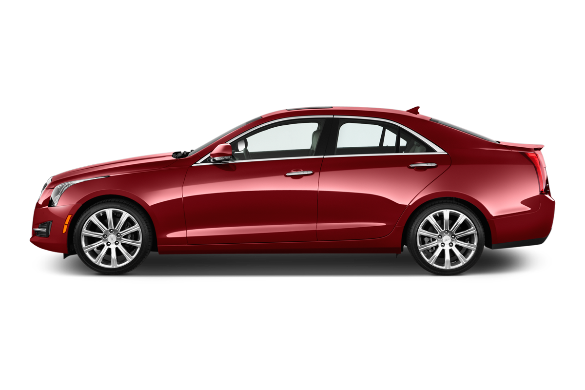Cadillac ATS side view