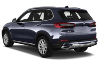 BMW X5 angular rear perspective
