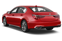 Acura RLX angular rear perspective