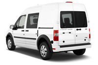 Ford Transit Connect angular rear perspective