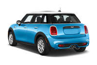 MINI Cooper S angular rear perspective