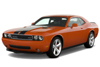 Dodge Challenger angular front perspective