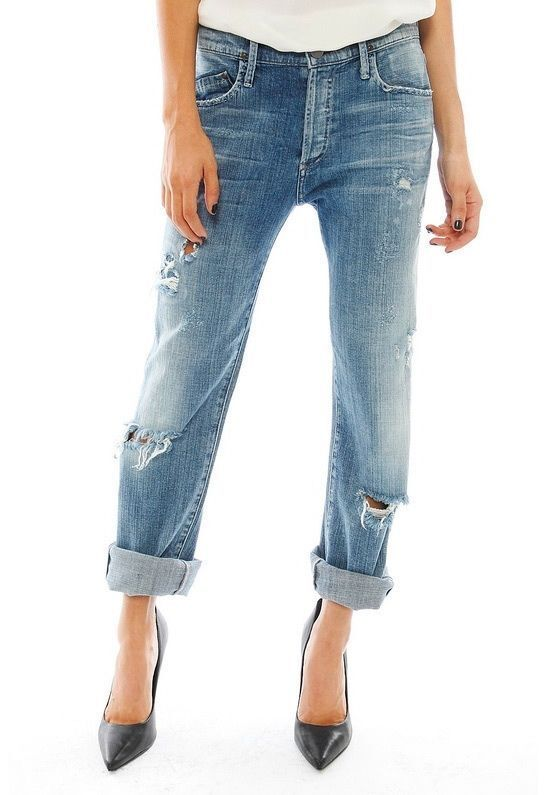 Mid rise slim boyfriend fit jean featuring whiskering and back pocket Carhartt Women's Tomboy Fit Benson Jean, by Carhartt. $ $ 44 99 $ Prime. FREE Shipping on eligible orders. Some sizes/colors are Prime eligible. 4 out of 5 stars TheMogan Roll Up Relaxed Stretch Skinny Jeans in Distressed Medium Blue Wash.