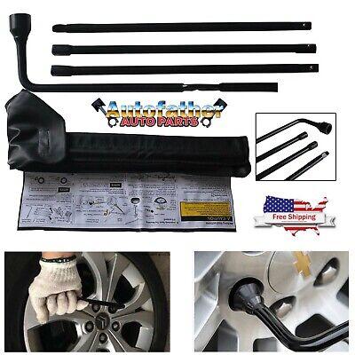 Spare Tire Lug Wrench Tools Kit Bag For 2001-2014 Chevrolet Silverado 2500 HD