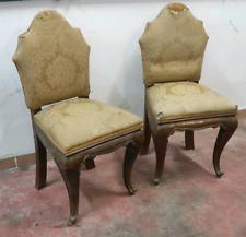 Antiche sedie poltroncine chippendale 1930