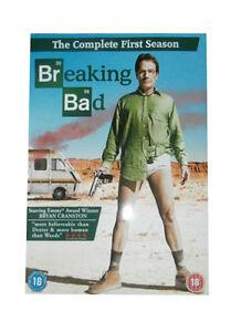 Breaking Bad  Season 1  DVD Bryan Cranston Dean Norris - <span itemprop='availableAtOrFrom'>Canvey Island, United Kingdom</span> - Breaking Bad  Season 1  DVD Bryan Cranston Dean Norris - Canvey Island, United Kingdom