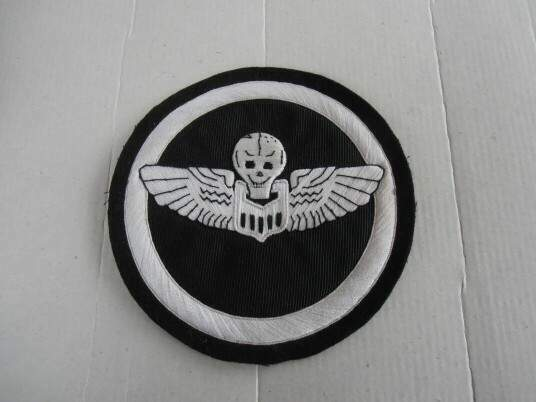 Ww2 giant baloon pilot wing us navy pacific theath