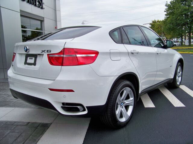 2012 BMW x6 XDRIVE50I Loaded Nav Cold Weather Pkg Rear Cam Rear DVD Roof