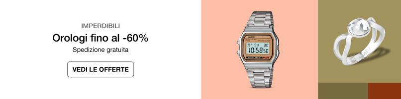 Orologi e gioielli per tutti