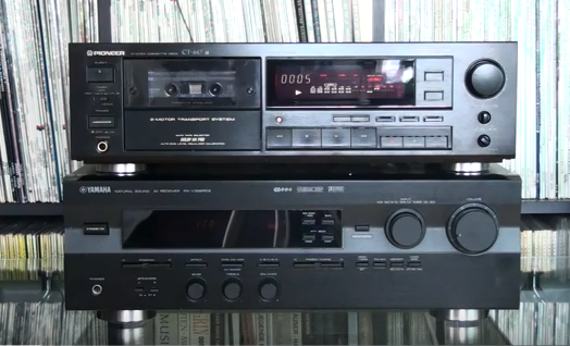 Pioneer Stereo Cassette Deck CT-447 4