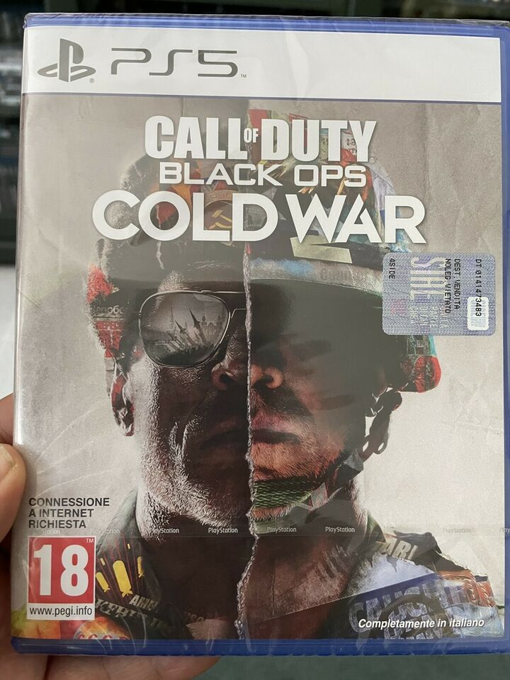 Gioco ps5 NUOVO call of duty black ops