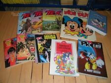 Lotto 11 pz fumetti Tex- Dylan Dog e Walt Disney