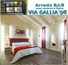 "Arredo hotel a roma- camera hotel modè 2- BED BREAKFAST "" B&B"