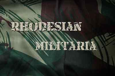 RHODESIAN MILITARIA
