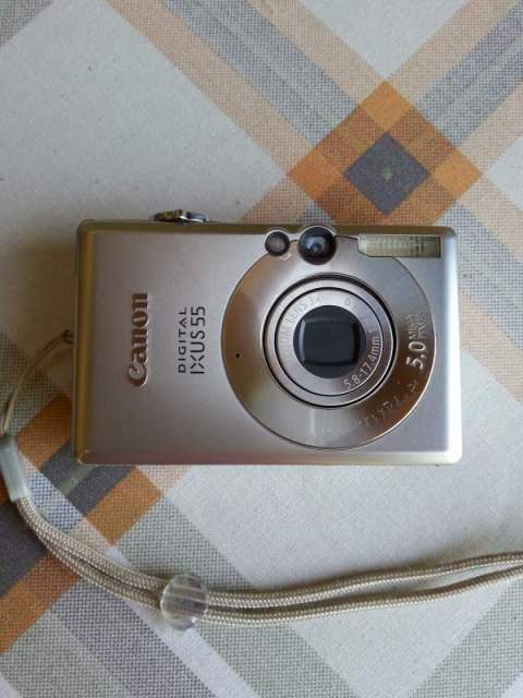 Canon digital ixus55 2