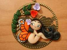 Collana in fimo lady butterfly