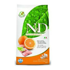 Ned Farmina Crocchette dog grain free large pesce e arancia 12 kg