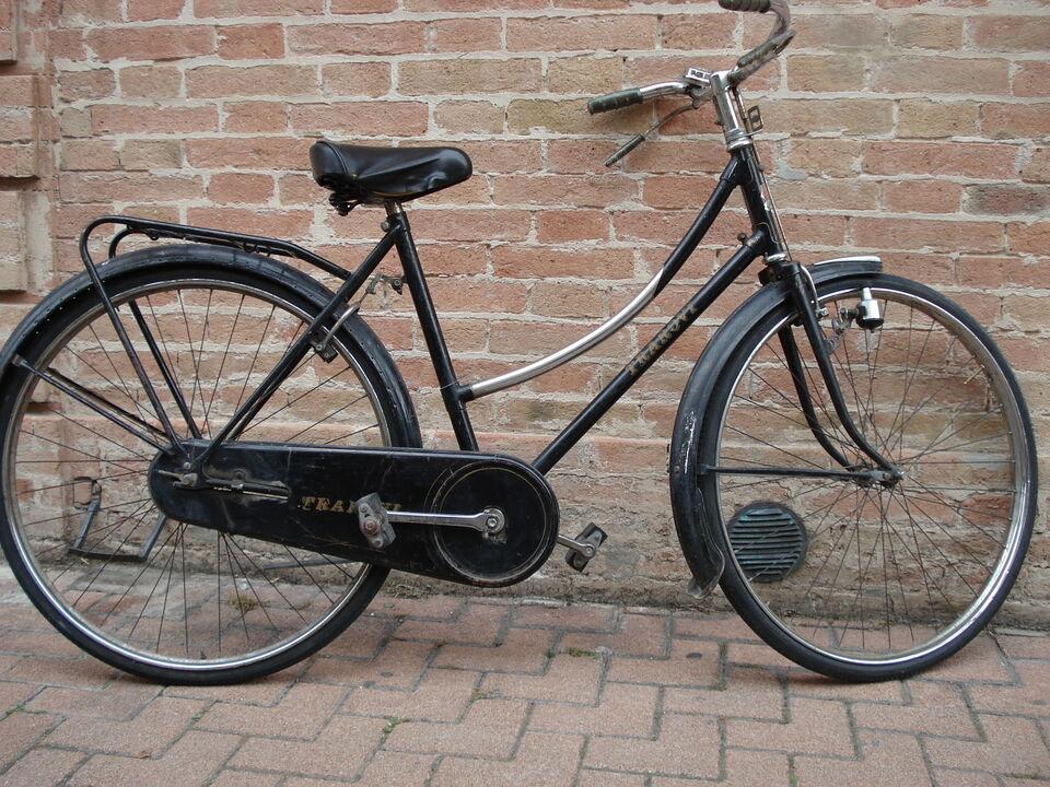 Bicicletta della nonna con freni a stecca