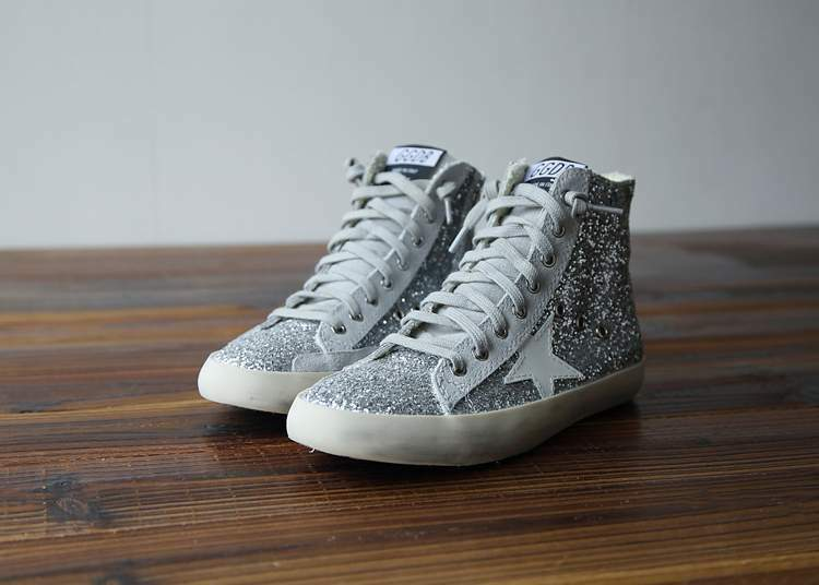 Golden goose fancy silver