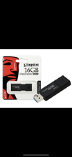 Pendrive usb flash Kingston 16gb nera