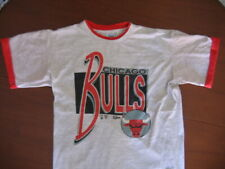 T-Shirt SALEM Basket NBA Vintage CHICAGO BULLS - L