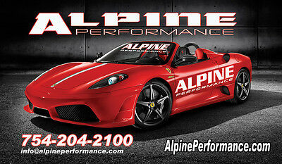 ALPINE PERFORMANCE INC