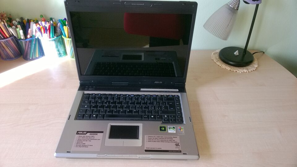 ASUS A6000 notebook