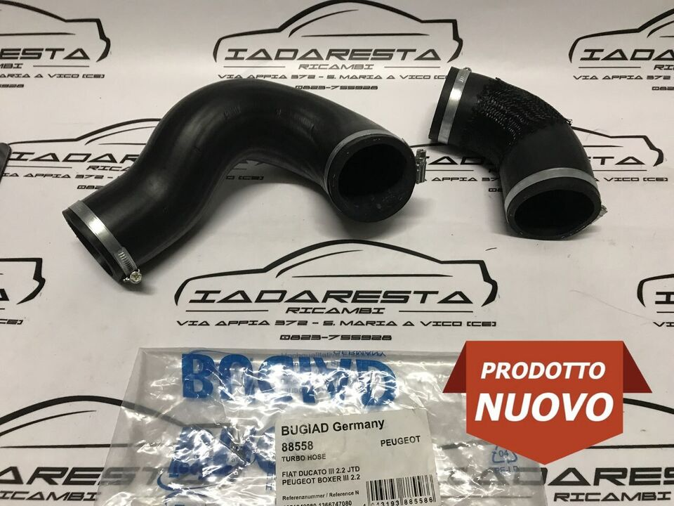 Kit Tubi Intercooler Ducato - Jumper - Boxer 2.2 D 1371842080