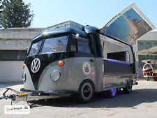 Rimorchio Food Truck Personalizzato Stile VW T1