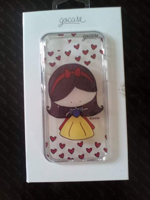 IPhone 7 Smartphone Gocase Snow White cover by Bia Pof