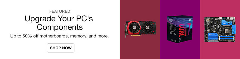 PC Components Up to 50% Off