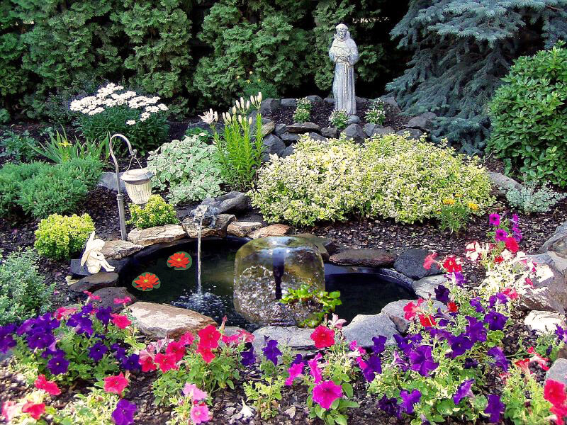 Diy koi pond ebay for Backyard koi fish pond