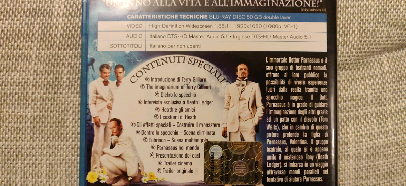 Blu Ray di Nolan, Spielberg e Gilliam 5