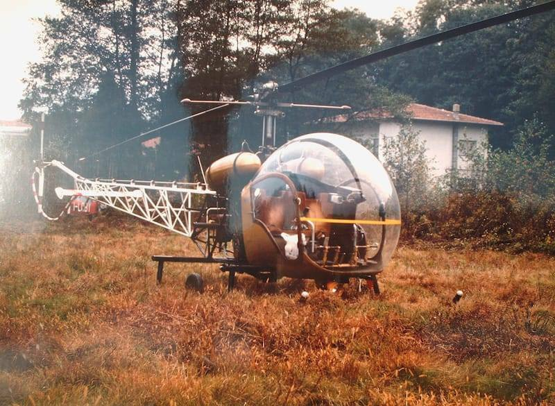 Elicottero Agusta Bell 47 G2