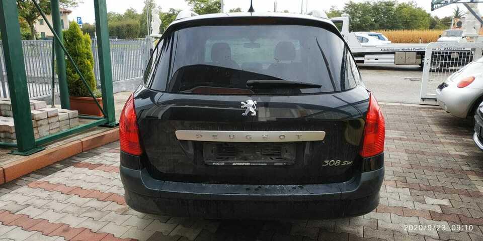 Peugeot 308 2009 c/sigla motore 9hx 2
