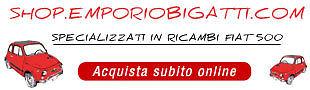 EMPORIO BIGATTI Fiat 500 e non solo