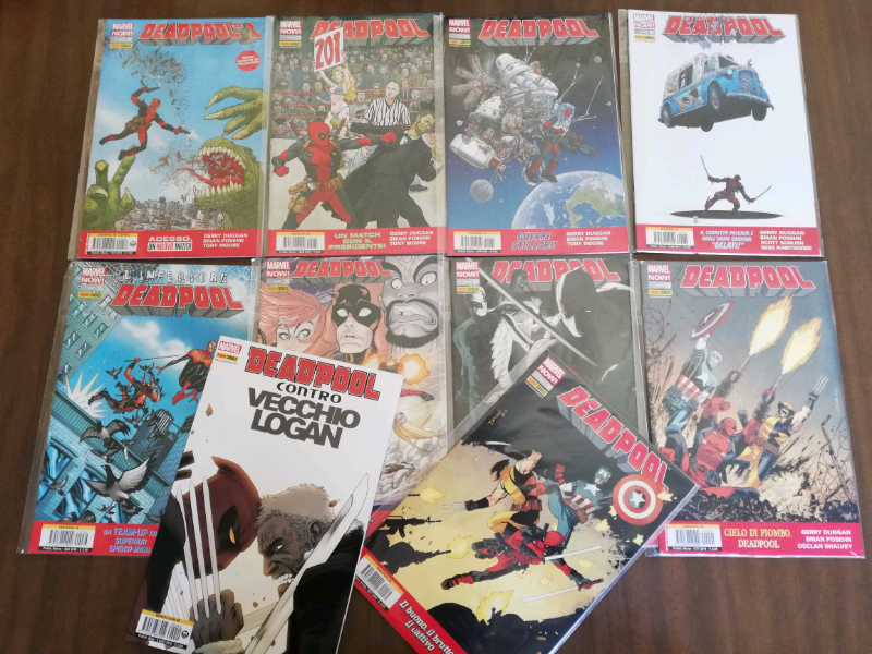 Deadpool Marvel Now 1-9+Deadpool Marvel Icon
