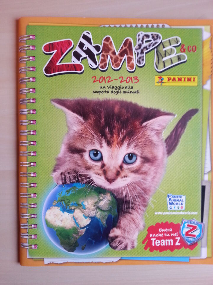 Album zampe e co 2012 – 2013 panini