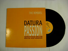 33 giri originale del 1993-DATURA-PASSION (The remixes)
